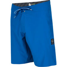 Volcom Lido Solid Mod Mens Shorts Boardshorts - Estate Blue All Sizes