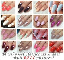 BLUESKY GEL UV LED NAIL POLISH CLASSIC NUDES FRENCH MANICURE FIELD FOX ICE VAPOR