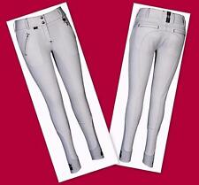 Ladies Beatta Full Seat Flex CooL MaX Breeches Equine Couture Feel & Looks WHITE