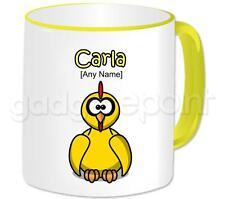 Personalised Gift Daft Chicken Coffee Tea 11oz Mug Any Name Any Message Cup