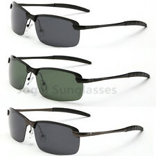 Cool New Mens Polarized Sunglasses Sport Driving Fishing Eyewear Metal Glasses