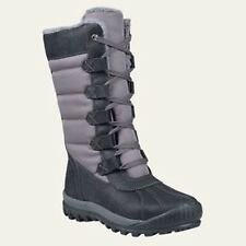 Timberland Women's Mount Holly Tall Size Waterproof Black Winter Boots A11SN