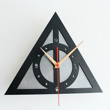 Creative Wall Clock Home Decor Watch  Harry Potter Deathly Hallows 11.8""