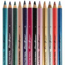 Stargazer Glitter Eyeliner Kohl Pencil Lip or Eye Liner In All Colours