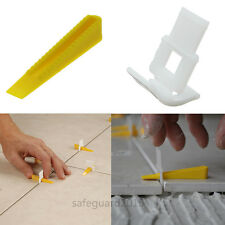100 Kits Tile Leveling System Wedges Clips Lippgae Free Fooring Tools Spacers