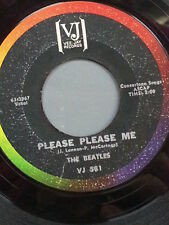 "THE BEATLES 45 RPM - ""Please Please Me"" ""From Me to You"" on VJ label VG- cond"