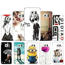 Rubber Soft TPU Silicone Phone Case Cover for Samsung Galaxy S6 G9200