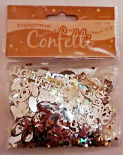 Engagement Party Table Confetti 1, 2, 3 & 5 Pack Options
