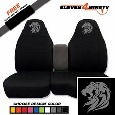 91-15 Ford Ranger Black 60-40 Seat Covers W Tribal Lion Choose From 9 colors
