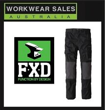 FXD Black Wp-1 Work Pants All Sizes Free postage Aust Wide