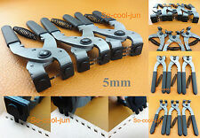 5mm Leather Craft Stitching Hand Chisel Pliers Pricking Iron Nippers 1/2/3 Prong