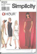 Simplicity 9022 Misses' Knit Dress and Stole 6, 8, 10, 12  Sewing Pattern