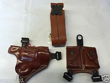 Galco Miami Classic Shoulder Holster, RH Tan Ruger, Colt, S&W, Taurus # MC118