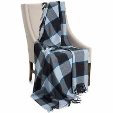 """Johnstons of Elgin Limited Edition Lambswool Blanket 67""""x55"""" NEW"""