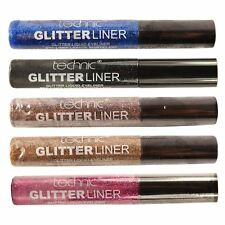 Technic Glitter Eyeliner Sparkle Eye Make-Up Pink Bronze Multi Glitter Eyes