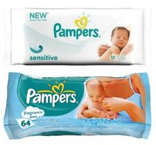 Pampers Sensitive Travel Wipes 12
