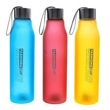 800ML Outdoor Sport Portable Camping Cycling Bike Frosted Water Drink Bottle New