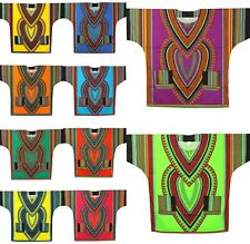 Men Dashiki Blouse African Hippie Traditional Vintage Boohoo Tribal Dress Shirt