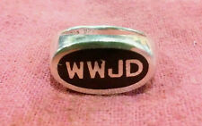 NEW - Sz 6- WWJD What Would Jesus Do - Ring - Free Shipping !