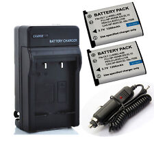 Olympus Li-ion LI-42B battery / Charger for Olympus FE5020 FE5030 U1070 LI-40C