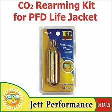CO2 Rearming Kit for Manual PFD Inflatable Life Jacket Survival CO2 Replacement