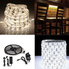 5M Waterproof 300 LED Strip Light 3528 5050 5630 SMD 12V DC LED Flexible Light