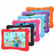 "7"" 8GB Google Android 4.4 Multi Touch Quad Core Tablet PC For Kids Bundle Case"