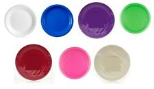 Paper Plates Round Good Quality Wedding Tableware Party Supplies All Colours