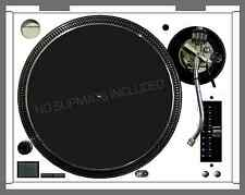 Technics Turntable Skin WHITE Decal ALL MODELS SL 1200 1210 MK2 M3D MK5 M5G