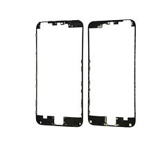 White+Black Replacement Front Middle Frame Bezel Repair Parts For iPhone 6 5.5""