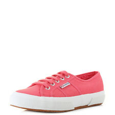 Womens Superga 2750 Cotu Classic Paradise Pink Casual Canvas Trainers UK Size