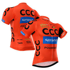 Mens Riding Tops Wear Cycling Short Sleeve Jersey Shirt Team Bike Racing Wear