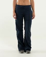NWT Lululemon Dance Studio Pant II Sz 10 TALL Naval Blue Navy Lined NEW
