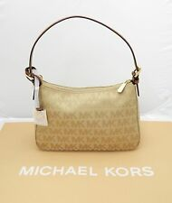 ⭐️ New Khaki/ Black Michael Kors Jet Set Signature #35H9GTTL1J Shoulder Bag
