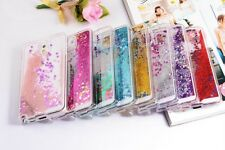 Dynamic Liquid Glitter Stars Bling Quicksand Hard Case Cover for iPhone Samsung
