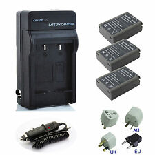Battery / Charger for Olympus BLN-1 BLN1 OM-D OMD Series EM5 E-M5 Digital Camera