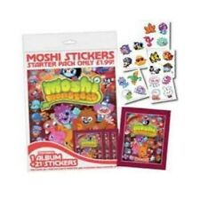 MOSHI MONSTERS 2013 RED STICKER COLLECTION - CHOOSE YOUR ITEM - PLUS FREE TATTOO