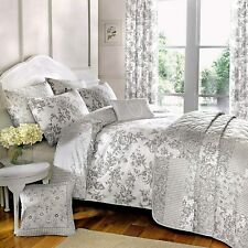 Malton Elegant Floral Duvet Cover Set and Matching Accessories