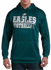 Philadelphia Eagles NFL Majestic Mens 1 Handed Catch Hoodie Big & Tall Size