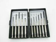 NEW PRECISION COMBINATION SCREWDRIVER SET SMALL SCREW DRIVERS HANDY GLASSES TOOL