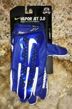 NEW Mens S M L XL NIKE Vapor Jet 3.0 Skilled Players Royal Blue Football Gloves