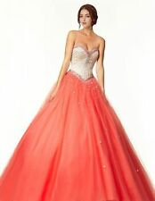 New Evening Prom Party Quinceanera Pageant Dance Bridal Dress Ball Gowns Custom