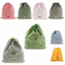 Waterproof Portable Shoes Bag Travel Storage Pouch Drawstring Dust Bags