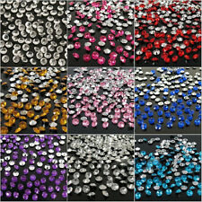 2000 X 4.5mm 1/3ct Diamond Table Confetti Wedding Party Crystals Decoration New