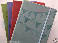 A4/A5/Pocket Premium Soft Touch Notebook Notepad Pastels Ruled Lined Hardback