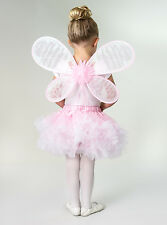 Deluxe Pink Fairy Pixie Wings Dress Up Costume Accessory Little Adventures