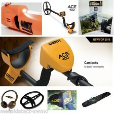 GARRETT ACE 400 Metal Detector & AT PINPOINTER + All Purpose Detector Carry Bag!