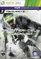 Tom Clancy's Splinter Cell: Blacklist (Xbox 360) | New Sealed & Fast Free Ship