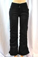 NWT Lululemon Dance Studio Pant II Sz 12 Regular Black Lined NEW