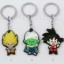 DragonBall Dragon Ball Z Piccolo Gokou PVC Figure Pendant Key Ring Chain NIB